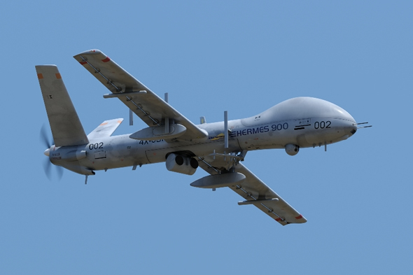 Elbit has won the third customer for its new Hermes 900 MALE UAS system. Photo: Elbit Systems