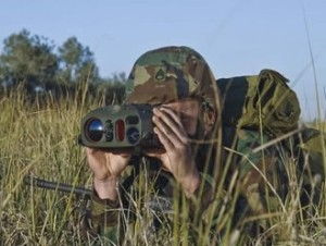 The MARS handheld target acquisition system from Elbit Systems.