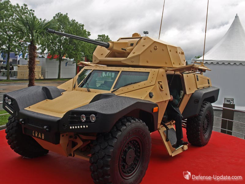 Panhard Crab For Sale >> Panhard Innovate with the CRAB | Defense Update: