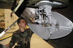 AN/APN-241 weather/terrain avoidance radar from Northrop Grumman is used on the C-130J and C-27J tactical transport aircraft