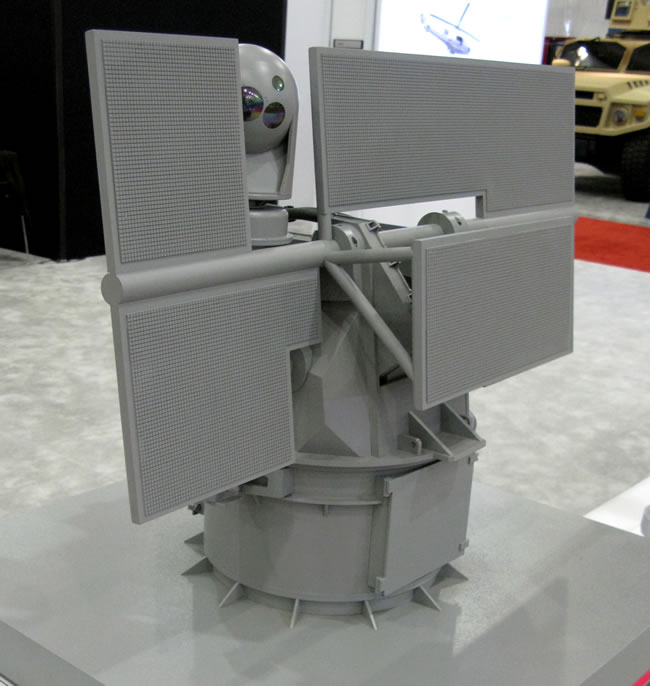 HPM Remote Weapon System from BAE Systems.