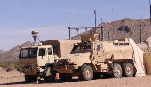 Part of the gear tested during NIE Exercises uses commercial, off the shelf systems, integrated into networks where available.