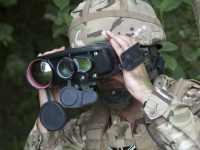 As a Hand Held Thermal Imager (HHTI) Thales Sophie UF2 is a light weight, fully integrated multi function system allowing the user to detect, recognise, identify and locate targets in day or night. Photo: Thales
