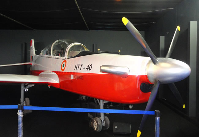 Could the IAF reluctance to endorse the domestic version for the HTT-40 based on the model on display? We doubt it is that simple...
