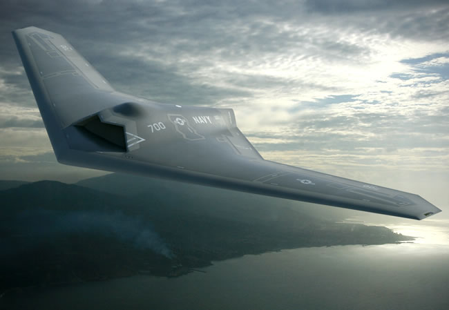 A forward view of the concept design by Lockheed Martin's Skunk Works.  Image: Lockheed Martin