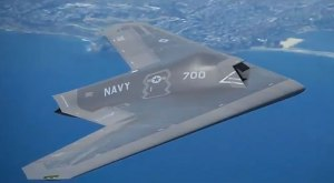 A side view of the concept design by Lockheed Martin's Skunk Works. Image: Lockheed Martin