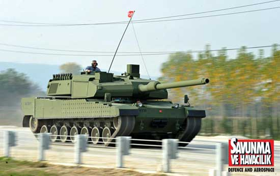 Ankara hopes that by 2017, as the first Altay MBT rolls off the production line it will be produced both for Turkey and Saudi Arabia. Photo: Savunma ve havacilik, Turkey