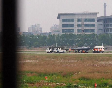 "The China's Lijian ""Sharp Sword"" UCAV. Internet photos"