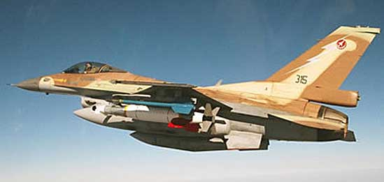 The Israel Air Force is already operating the Spice 2000 weapon, carrying the Mk84 1 ton pound warhead (2,000 pounds). Photo: Rafael