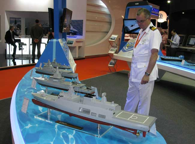 The new Littoral Mission Vessel (LMV) class program for Singapore comprises eight 1,200-tonne vessels. The program is being led by ST Marine as prime contractor. These boats will replace the country's current Fearless-class patrol vessels.