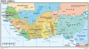 THe United Nations map of West Africa. Source: UN