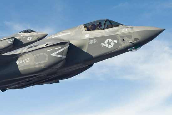 The choice will be between Boeing's F-15 Silent Eagle, Lockheed Martin's F-35 Lightning II and the EADS Eurofighter Typhoon. F-35 Photo: Lockheed Martin