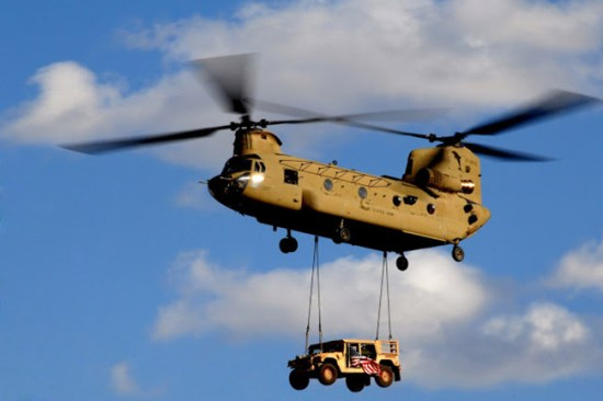 Boeing has won a five-year contract with the U.S. Army for as many as 217 CH-47F Chinook helicopters