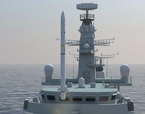 Brazil selects MBDA's Sea Ceptor air defense system for its new corvettes