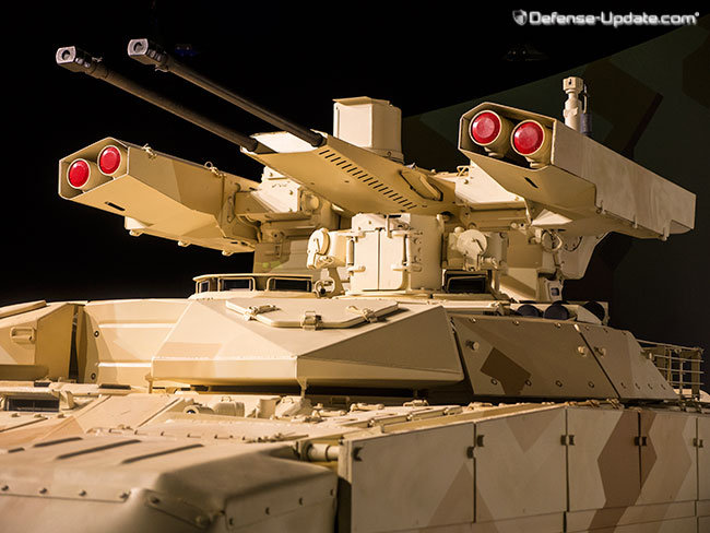 The vehicle features extremely effective firepower, high Level of protection, high mobility and improved mission endurance. Photo: Noam Eshel, Defense-Update