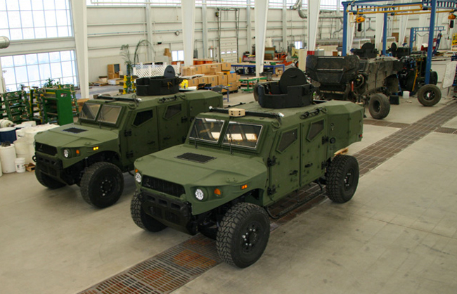 the ULV project team is developing and building three identical lightweight tactical research prototype vehicles emphasizing survivability for occupants. Photo via TARDEC