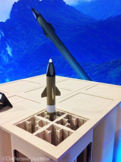 As a miniature weapon, MHTK can quadruple the loadout, enabling each MML to load 60 interceptors. Photo: Defense-Update