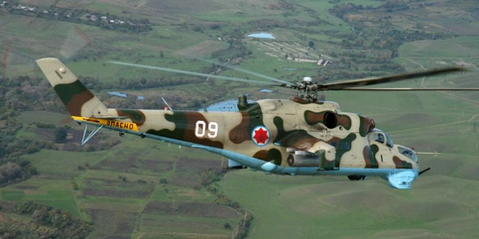 The Georgian Air Force had 21 Hind F (Mi-24P) in service. According to Defense Minister Irakli Alasania, these will now be retired for western alternatives.