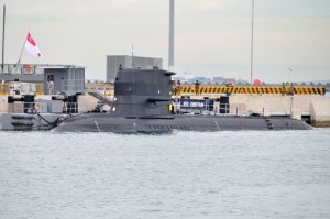 RSS Chiftain is one of four Swedish built submarines currently operated by the Singapore navy. Photo: BQ-T via Flickr.