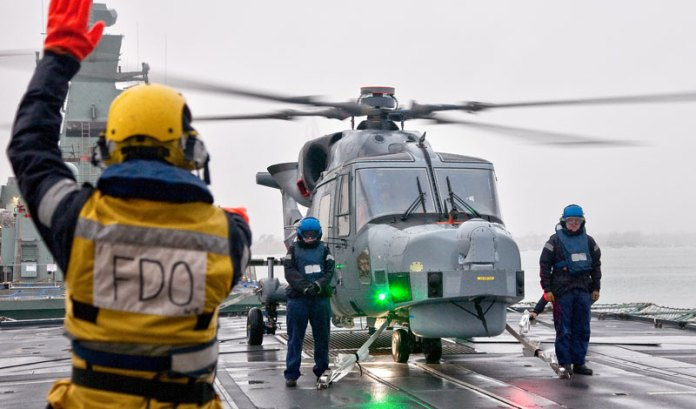 Seoul will receive eight AgustaWestland AW159 helicopters to replace existing Lynx 99 maritime helicopters currently operational with the Korean Navy. Photo: AgustaWestland
