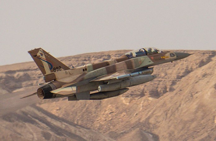 Israel Air Force F-16I Soufa taking off from Ouvda on exercise Blue Flag 2013. Photo: Noam Eshel