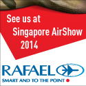 Visit RAFAEL at the Singapore Airshow, February 11-16, 2014