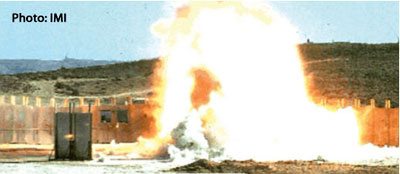 IMI's Multi-Purpose Reduced (MPR) bombs are designed to focus the weapon's lethality over a relatively small radius, thus limiting collateral damage or risk to nearby friendly forces, enabling more effective and accurate combat air support. Photo: IMI