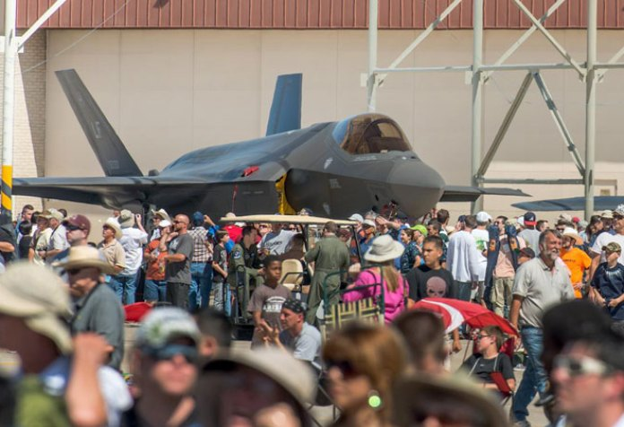 International Debut for F-35 at Farnborough, Air Tattoo in July