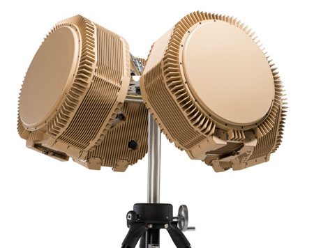 The RPS-42 selected by the US Navy is based on RADA's Multi-Mission Hemispheric Radar (MHR) AESA platform. Photo: RADA