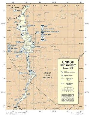 UNDOF deployment - Golan 2010