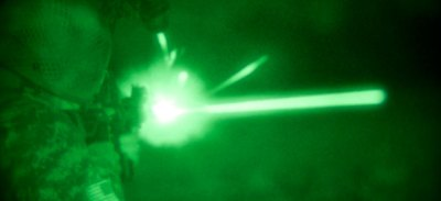 OWL is a technology approach that doesn't allow an enemy target to trace back to who is firing rounds at him, even if the target is using night vision. Photo: US Army by Justin English
