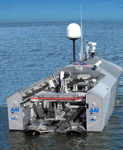 The mine countermeasure systems will be carried in the CUSV's rear payload bay. Photo: Textron Systems