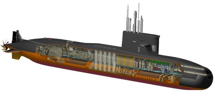 Amur-class submarine concept