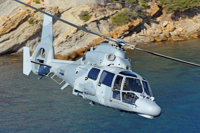 Indonesia will receive 11 AS565MBe naval helicopters, to be configured for anti-submarine warfare missions, operating from ships and shore. Photo: Airbus Helicopters