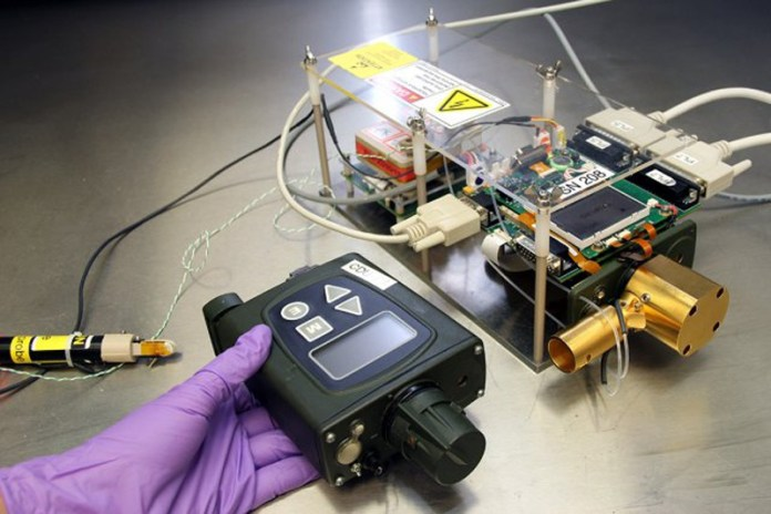 Scientists at the U.S. Army Edgewood Chemical Biological Center at Aberdeen Proving Ground, Md., added the ability to detect explosive materials to the Joint Chemical Agent Detector. Photo: US Army