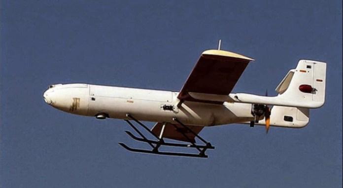 Ghods Mohajer-2 reconnaissance unmanned aerial vehicle UAV. Photo: Chavosh Homavandi.