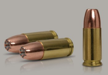 115 Grain Di-Cut rounds for 9mm from IMI. Photo: IMI