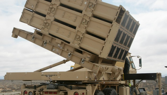 The U.S. Army successfully fired three missiles to verify tube integrity and missile stack integration of the Multi-Mission Launcher using a Launch Demonstration Unit. Photo: US Army