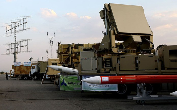 Iranian Sayyad-3 surface-to-air missile is developed as part of the Bavar-373 air and missile defense system. Photo: FARS News