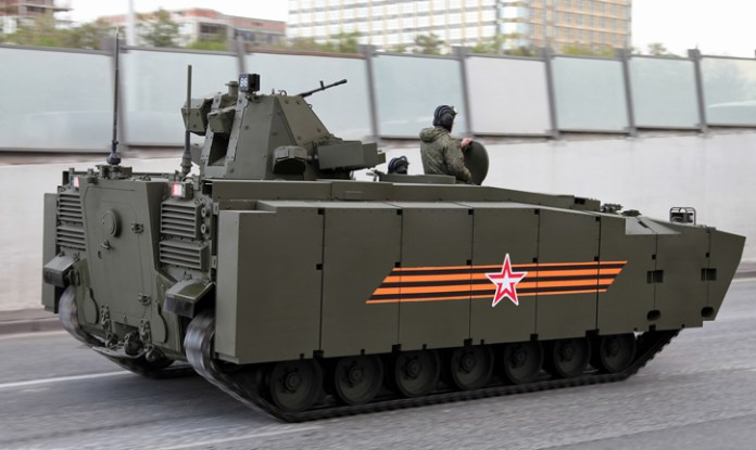 Kurganets 25 BTR - APC equipped with 7.62mm remotely controlled weapon station. Photo: Vitaly V. Kuzmin