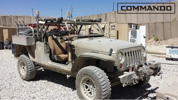 Commando Jeep can be configured to different missions, using special conversion kits. Photo: Hendriks