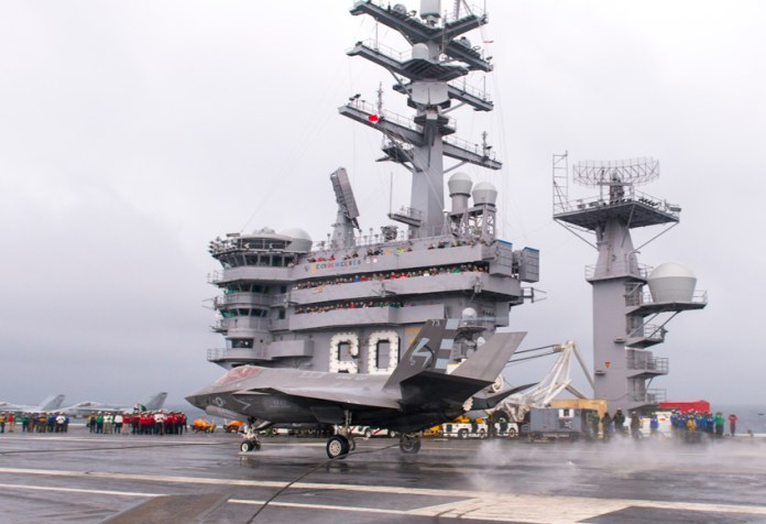 F-35C is At Sea for its 2nd Developmental Test (DT-II)