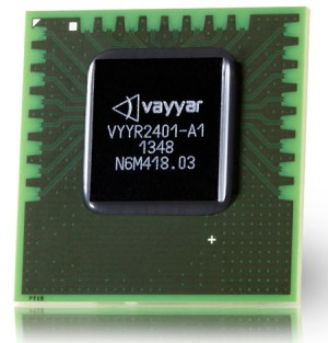 The Vayyar sensors implements a Muliple-Input-multiple-output (MIMO) radar on a chip. Photo: Vayyar