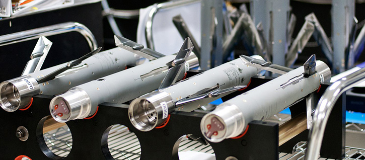 The 'plug in' integration of the new guidance system enables the use of existing rockets without changes to existing components. Photo: BAE Systems.