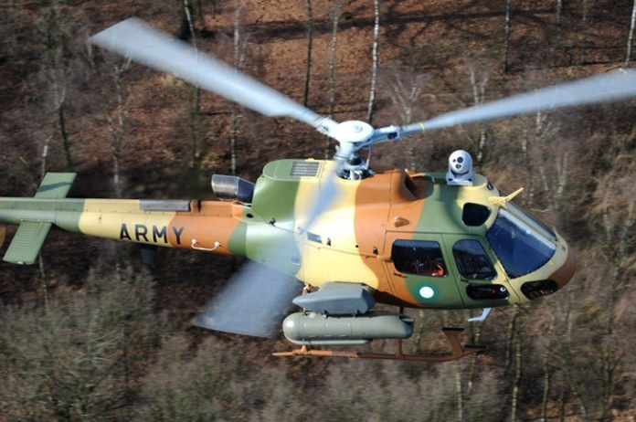H-125 Fennec light, armed reconnaissance helicopter Photo: Airbus Helicopters
