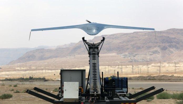 BlueBird 650D small tactical UAS. Photo: IAI