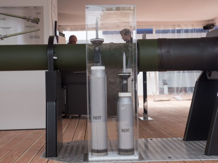 New ammunition designed for the L/51 cannon include high performance kinetic rounds - Armor Piercing Fin Stabilized Discarding Sabot - (APFSDS), and high explosive, air-bursting munitions (HE-ABM). Both are derived from existing types designed for the L44/55 120mm guns. Photo: Noam Eshel, Defense-Update