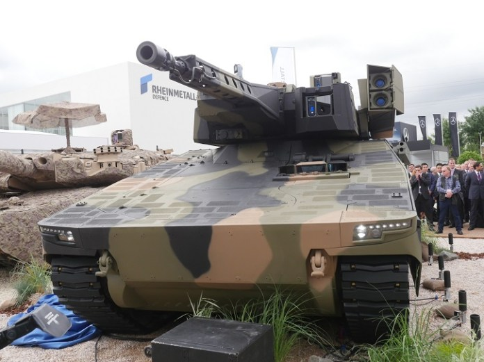 KF31 Lynx mounting the Lance turret with 35mm cannon. Photo: Noam Eshel, Defense-Update