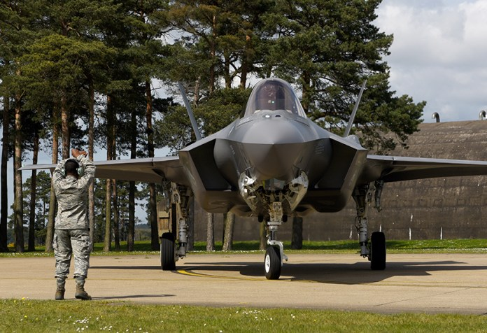 US Air Force F-35A Deploy to Europe
