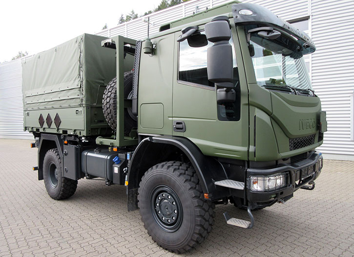 Iveco To Supply New 4 215 4 Trucks For The German Army
